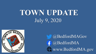 July 9, 2020: Town of Bedford Update on COVID-19